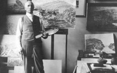 Birger Sandzén: Auction, Paintings, and Lindsborg History
